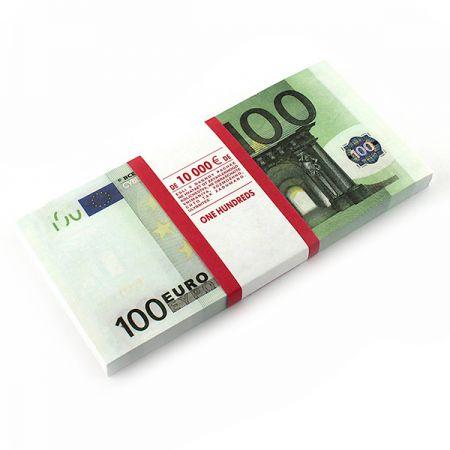 Отрывной блокнот 100 Евро сувенирный