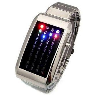 "Led Watch - часы ""Матрица"" светодиодные наручные"