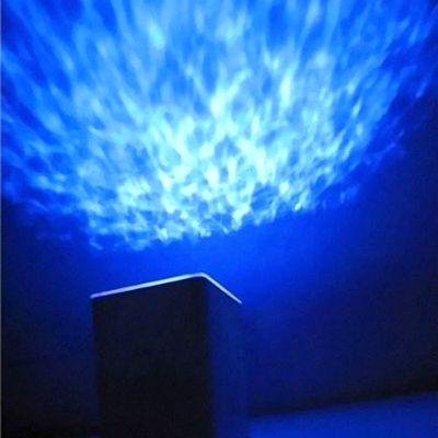 Проектор Океана музыкальный ночник с таймером квадратный