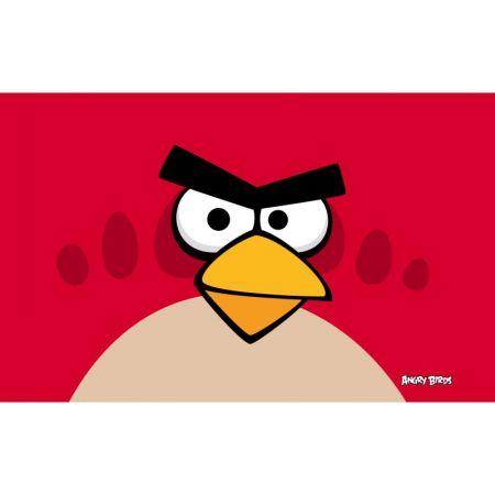 "Обложка для паспорта ""Angry Birds"" красная птица"