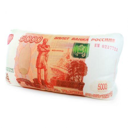"""Подушка """"5000 рублей"""" антистресс"""