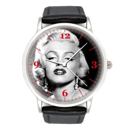 Часы наручные хромированные Merilyn Monroe