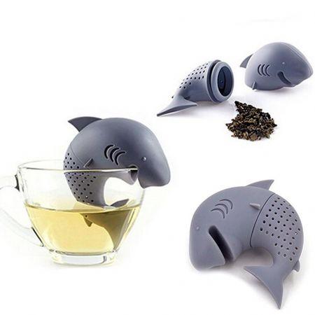 """Ситечко """"Акула"""" для заваривания чая силиконовое"""