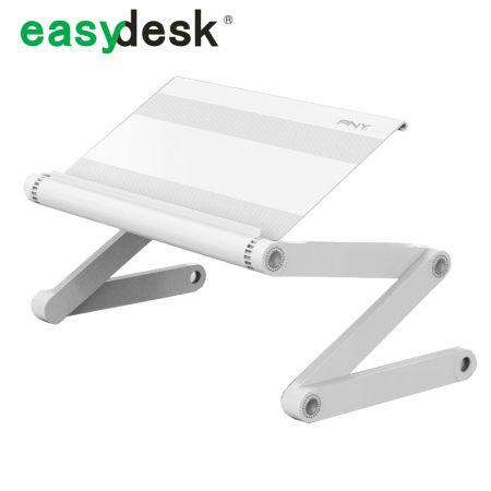 Столик-трансформер для ноутбука раскладной белый без полки