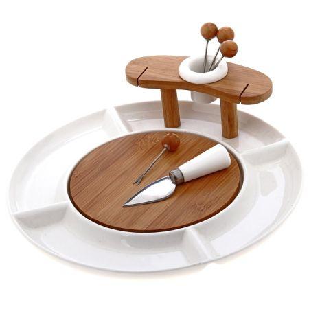 Набор столовый со шпажками Эстет 6 предметов