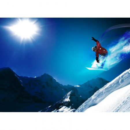 Обложка для автодокументов N 8 Сноубордист